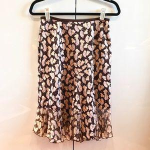 Diane Von Furstenberg floral skirt size 4